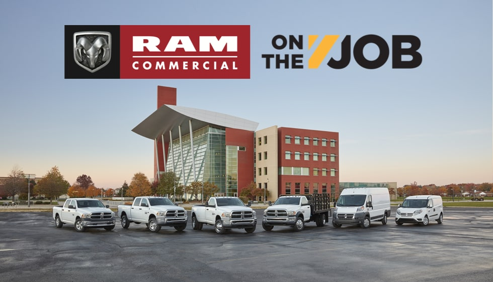 Commercial Incentives - On The Job | Binghamton Chrysler